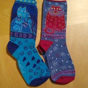 Pair of Cat Socks